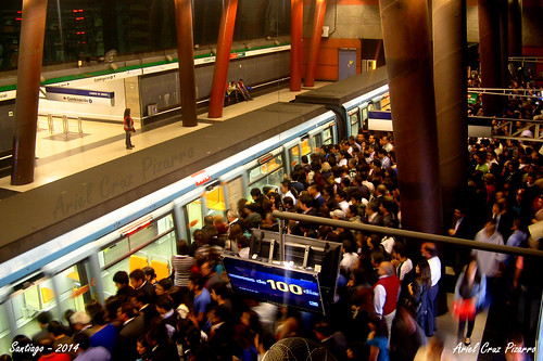 Metro de Santiago - Alstom NS93 - Vicente Valdés (Línea 5)