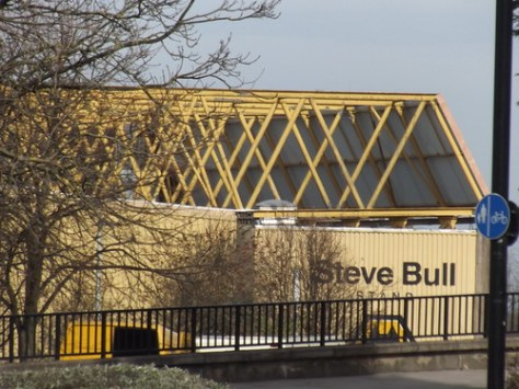 Molineux - Wolverhampton Wonderers FC - Steve Bull Stand