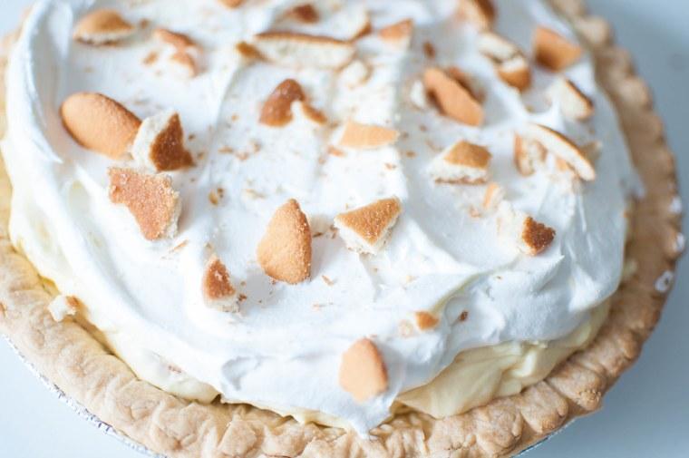 Banana Pudding Pie 4