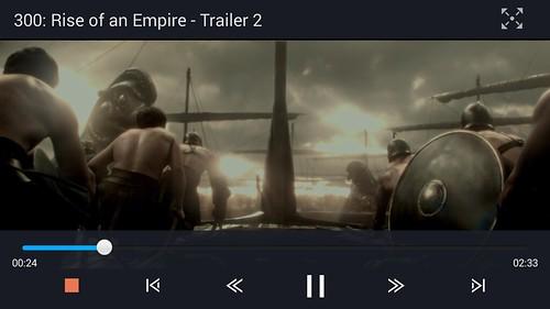 """ดูคลิปวิดีโอ 1080p บน True SMART 4G 5.5"""" Enterprise"""