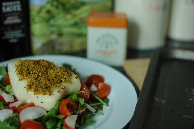 CUrry Crumb Cod