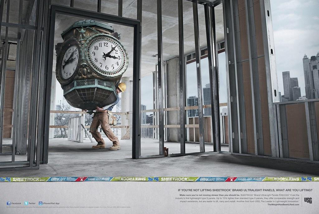 USG Corporation - Clock