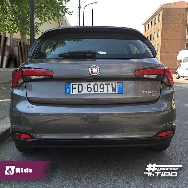 nuova Fiat Tipo 5 porte - auto a misura di mamma
