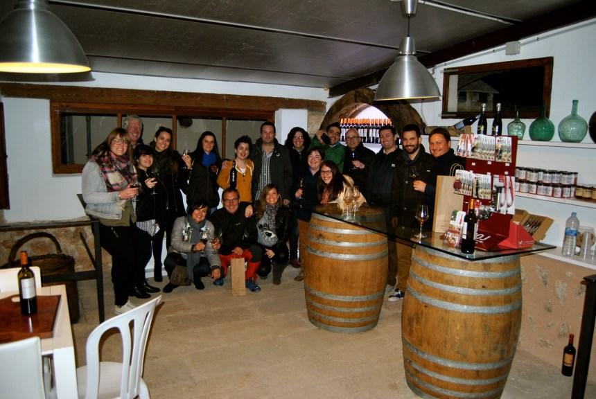 Visita a bodegas Ramanyá ( Santa María)