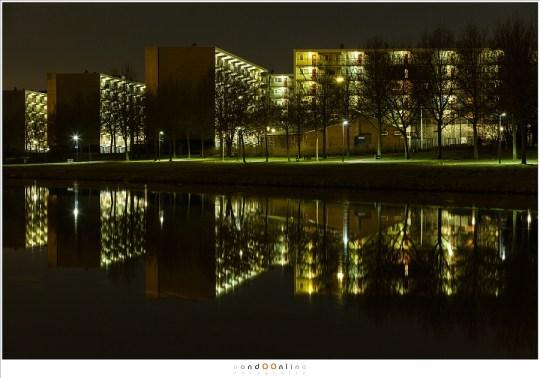 De flatgebouwen van Helmond-Oost