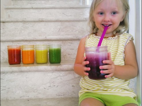 Rainbow Juice Cleanse