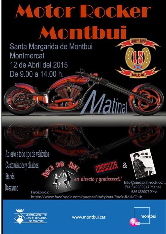 Matinal Motor Rocker Montbui