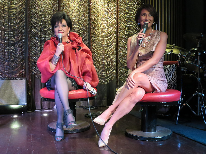 Celia Rodgriguez and Cherie Gil