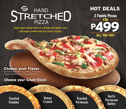 Review Of New Hand Stretched Pizza By Pizza Hut Philippines