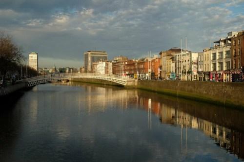A rare mellow evening in Dublin