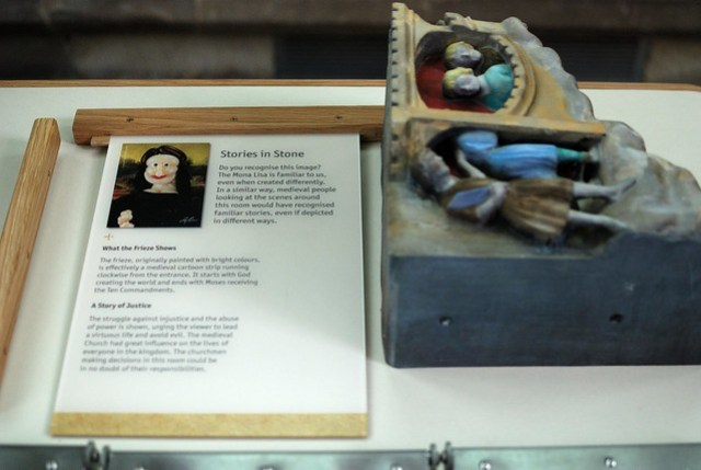 The new display, part of the Magna Carta exhibition