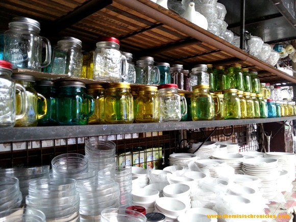 mason jars at dapitan arcade