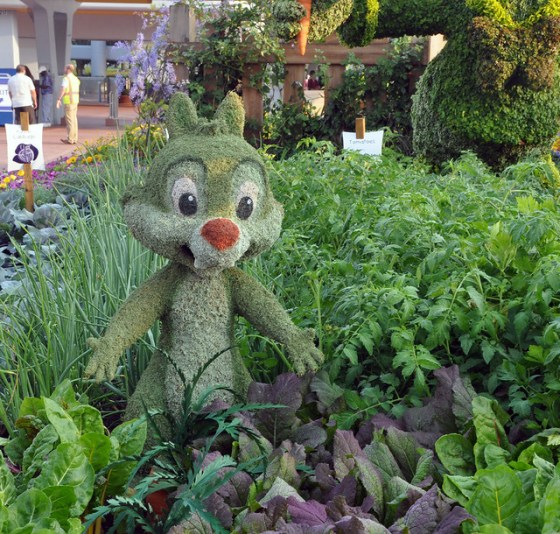 Chip topiary