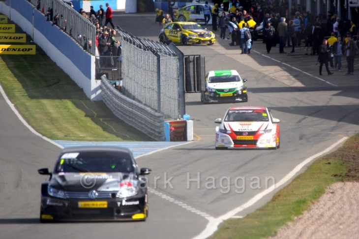 BTCC Launch Day 2015