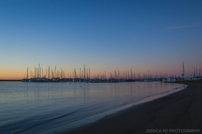 Santa Barbara California Sunrise on Beach