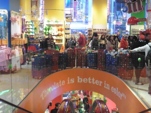 Tiendas y lugares frikis en Nueva York: M&M'S World