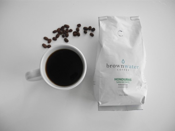 Brown Water Honduras Coffee Beans