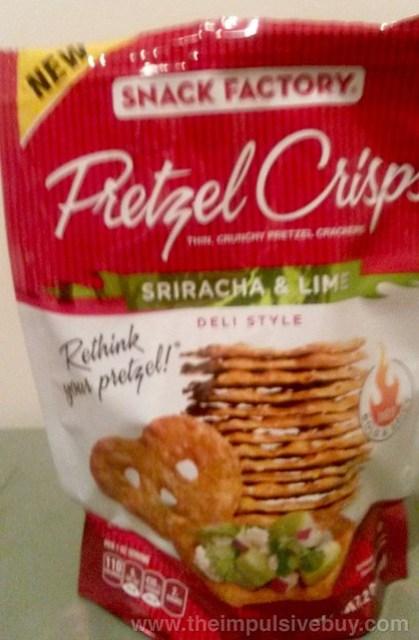 Snack Factory Sriracha & Lime Pretzel Crisps