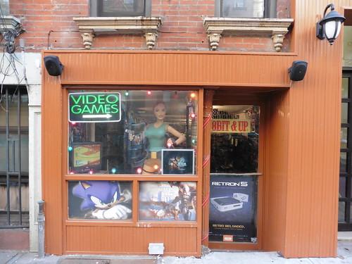 Tiendas y lugares frikis en Nueva York: 8 Bit and Up Videogames