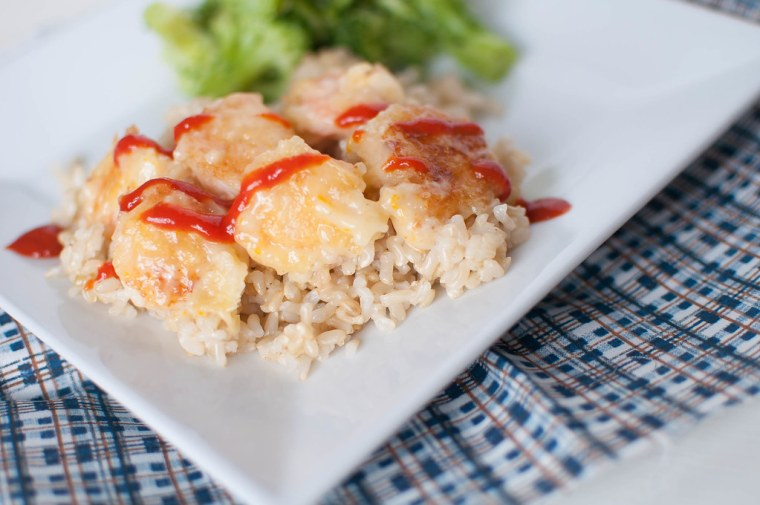 Honey Orange Shrimp 4