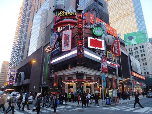 Tiendas y lugares frikis en Nueva York: Hershey's Chocolate World