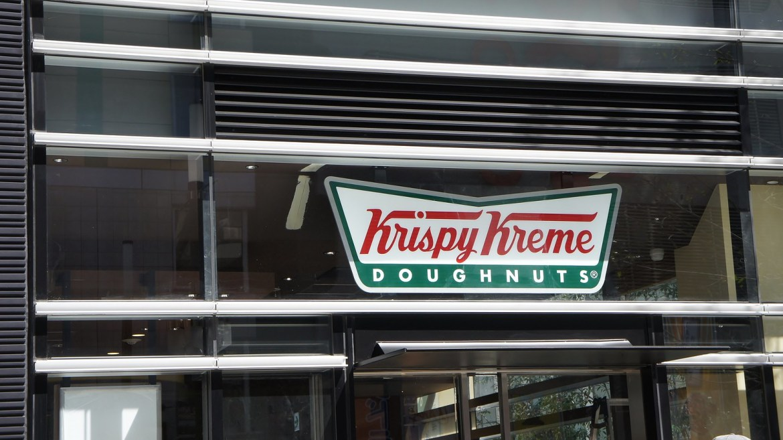Krispy Kreme Donuts at Claws at TOHO Cinemas Shinjuku Godzilla attraction