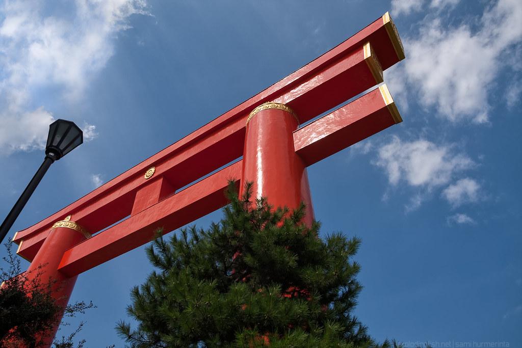 Heian Shrine's Torii Gate