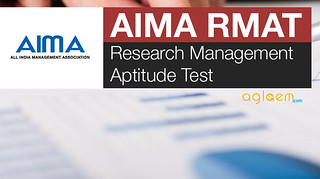 Research Management Aptitude Test (RMAT) 2016 - AIMA