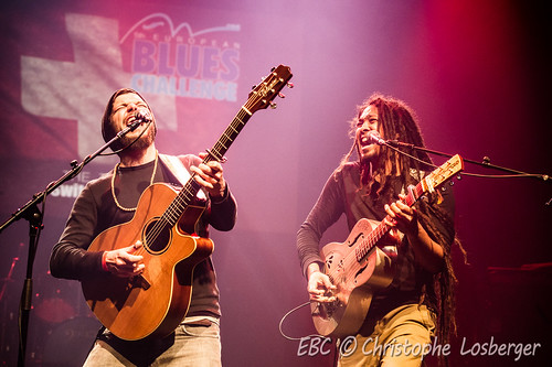 The Two (CH) @ European Blues Challenge 2015