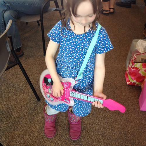 Niece, future rock star
