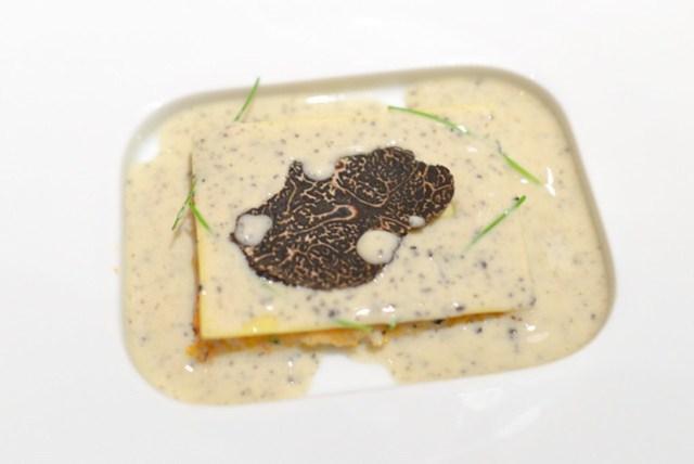 "LOBSTER Lobster ""Lasagna""; Celeriac, Truffle Butter"