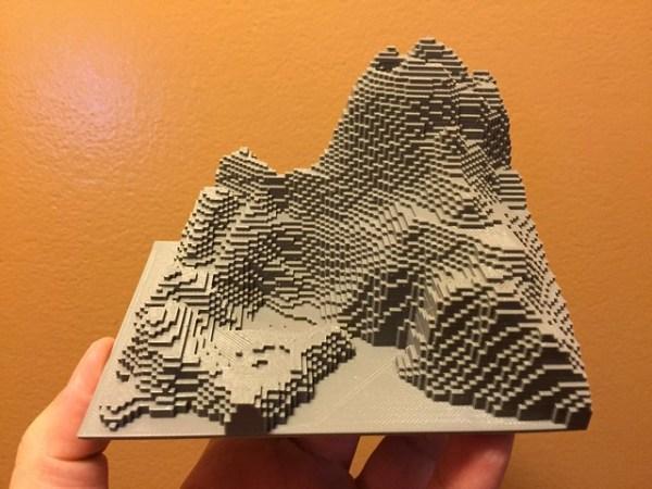3D Printed MineCraft