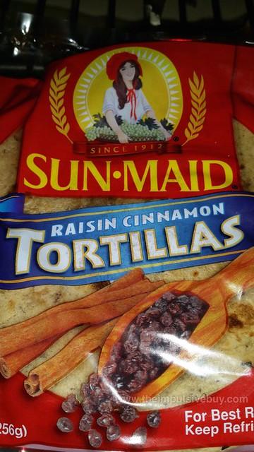 Sun-Maid Raisin Cinnamon Tortillas
