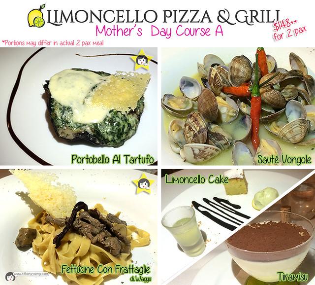 Limoncello Menu Course A