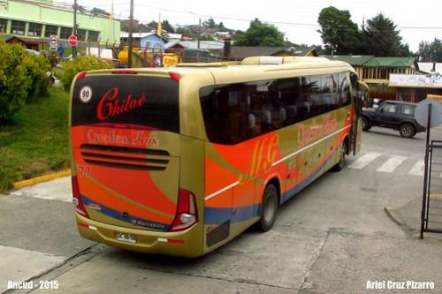 Queilen Bus - Ancud - Marcopolo Viaggio 1050 G7 / Mercedes Benz (DLRB98)