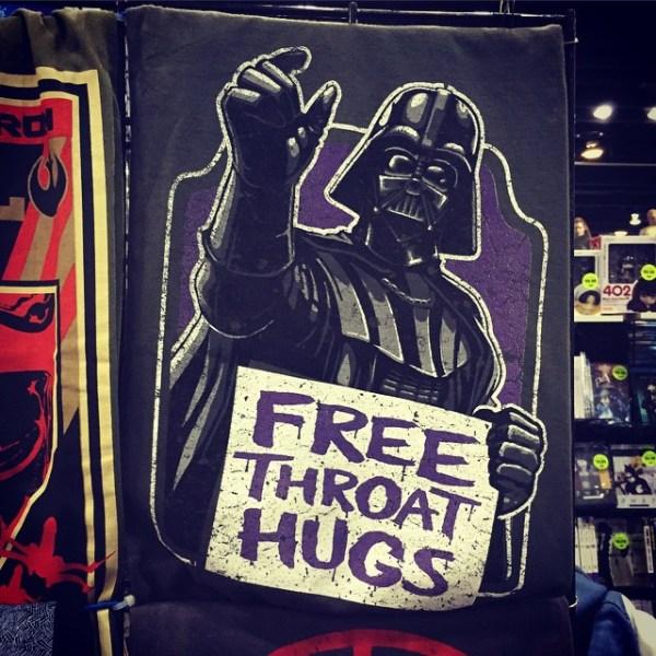 Free Throat Hugs!