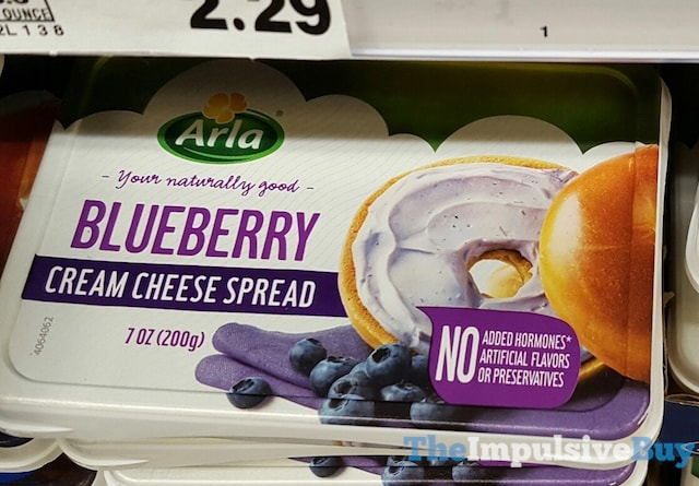 Arla Blueberry Cream Cheese Spread