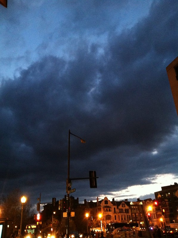 Storm over dupont