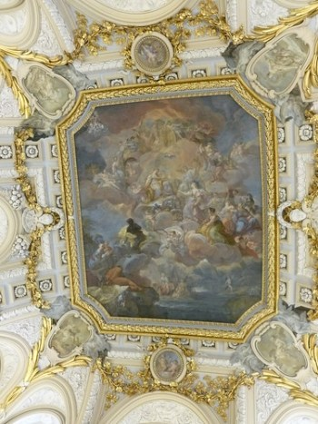 Palacio Real Ceiling, Madrid
