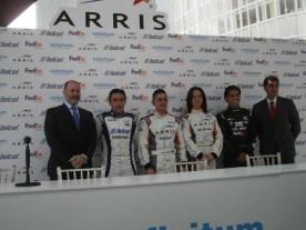 Presentan Télmex y Telcel su escudería para súper V8 2015