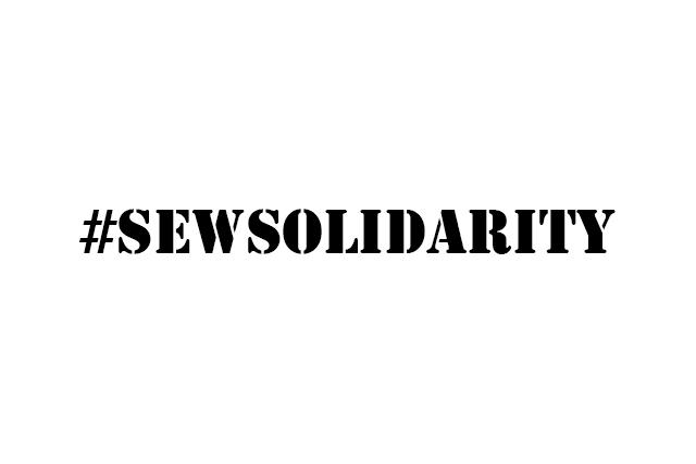 #sewsolidarity logo