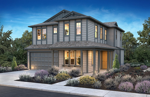 Beach House Plan 3, Elevation A