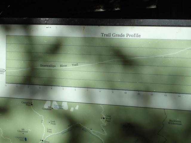 Dosewallips Trail Map