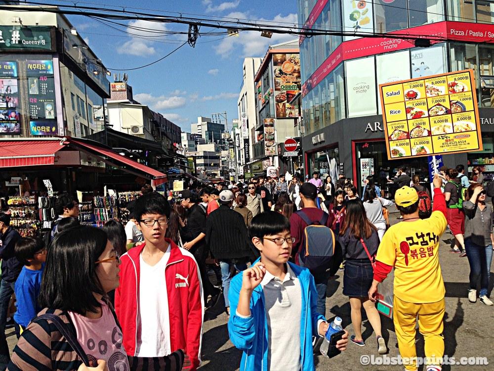 4 Oct 2014: Hongdae (Hongik University Street) | Seoul, South Korea