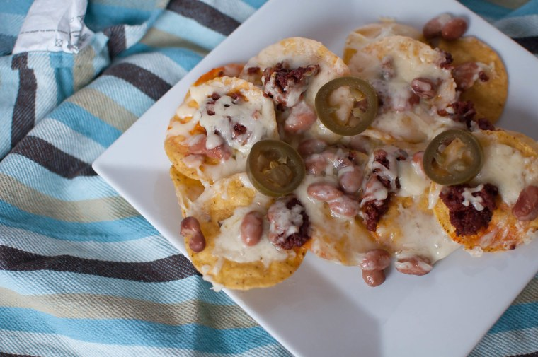 Chorizo Nachos 3