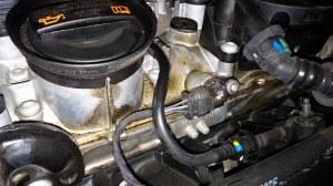 Oil seepage, normal or not?  VW GTI MKVI Forum  VW Golf