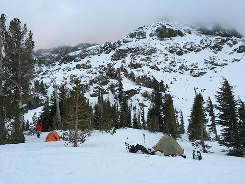Camp in the morning