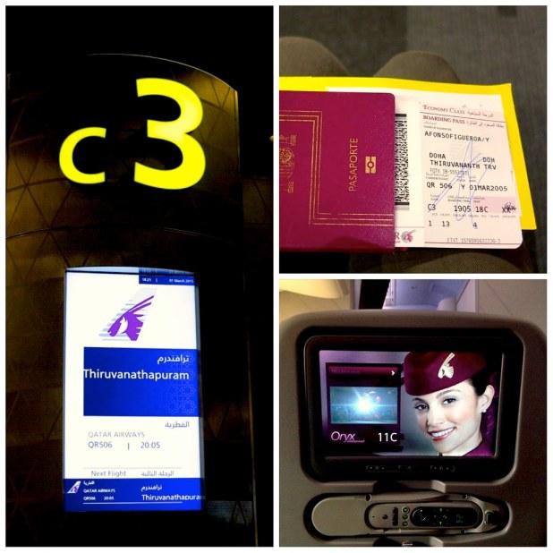 Volar con Qatar Airways a India