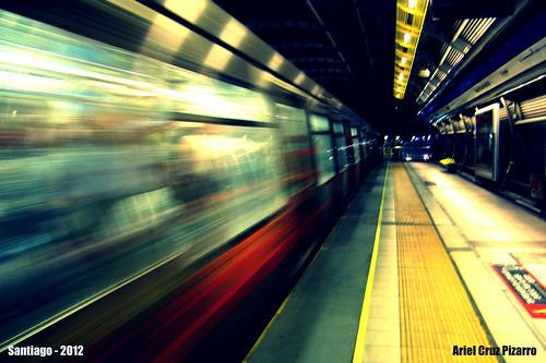 Metro de Santiago - Alstom AS2002 - Trinidad (Línea 4)