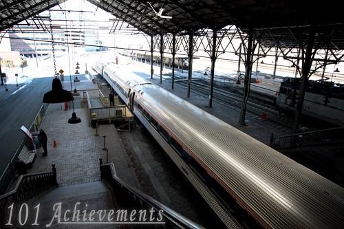 Train Trip to NYC